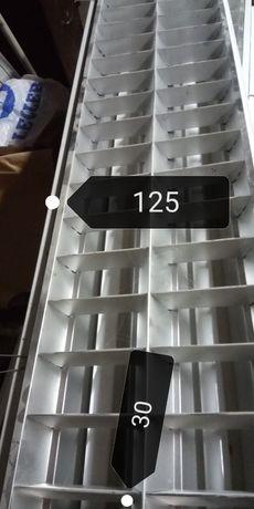 2 Armaduras / candeeiro teto 1,25 *,30 inclui lâmpadas