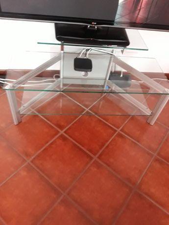 Mesa TV de vidro