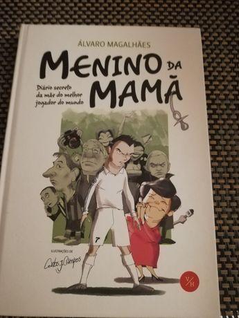 Livro Menino da Mamã de Álvaro Magalhães