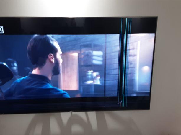 Telewizor Sony 55'' uszkodzona matryca.