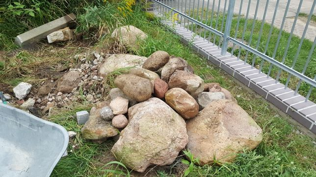 Kamienie polne głazy