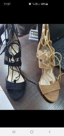 Sandałki na obcasie rozmiar 38 NOWE