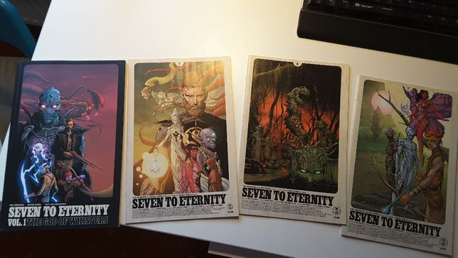 Seven To Eternity tom 1 + zeszyty 5, 6, 7 | Issues 1-7