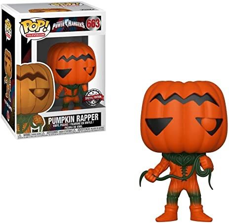 Funko POP! Pumpkin Rapper Power Rangers 663 25lat excl