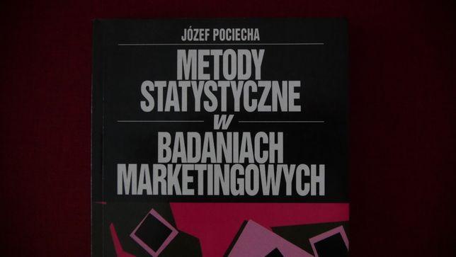 """""""Metody statystyczne w badaniach marketingowych"""" -J.Pociecha"""