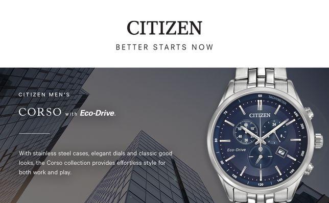 Citizen Men's Eco-Drive AT2141-52L Сапфировое стекло,литой браслет 100