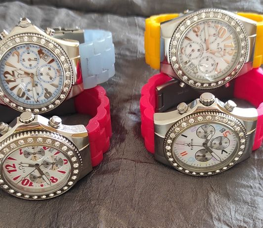 4 Relógios a funcionar- Eletta e Braceletes