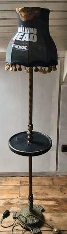 Candeeiro de pé em bronze dos anos 80
