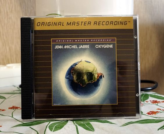 "Jean - Michel Jarre 1976 ""Oxygene"" (Original Gold CD), MFSL, Mint."