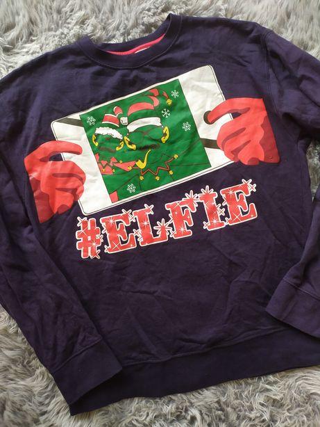 Bluza świąteczna męska Elf M Cargo Bay