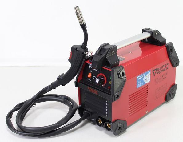 Inverter de soldadura c/ eléctrodos + MAG (Fio Fluxado) 2 em 1 140Ah