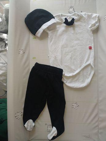 Костюм для новорожденного бодик ползунки шапочка
