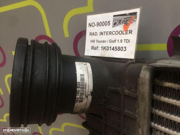 Radiador Água Volkswagen Touran / Golf 1.9TDi 100Cv de 2004 - Ref: 1K0145803 - NO90005
