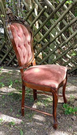 Krzesło stare antyk zabytkowe