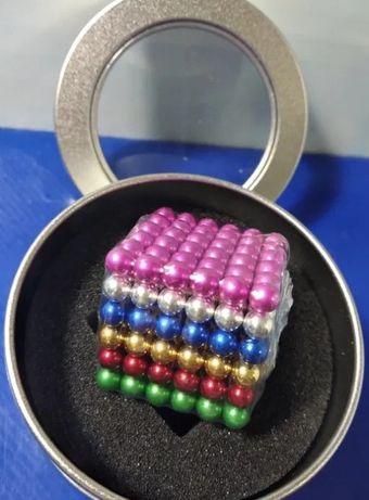 Игрушка НеоКуб цветной магнитные шарики 5мм 216 головоломка Neocube