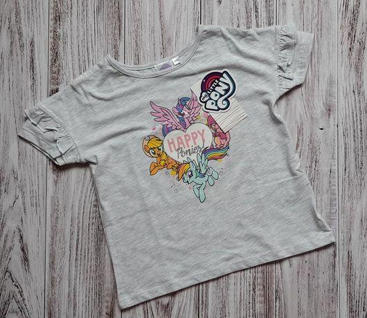 Футболка my little poni, футболка девочке 4-5 лет