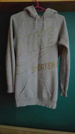 Bluza szara długa Nike rozm. S