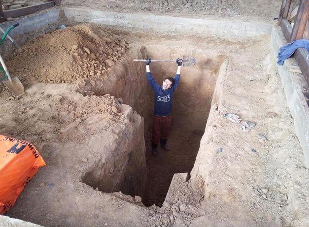 Нужны землекопы? Мы копаем вручную! Траншеи, котлованы. Вывоз грунта