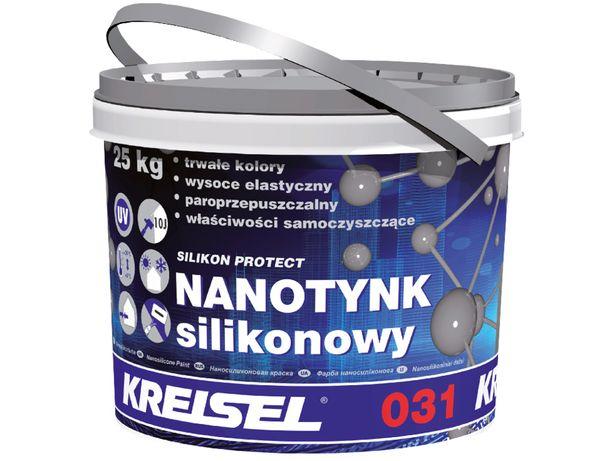 KREISEL NANOTYNK Tynk silikonowy Silikon Protect 031 25kg