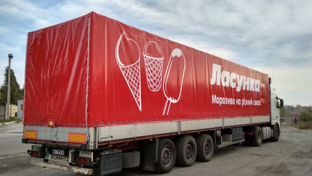 Тенты шторы на полуприцеп авто фуру 20-тонник грузовик