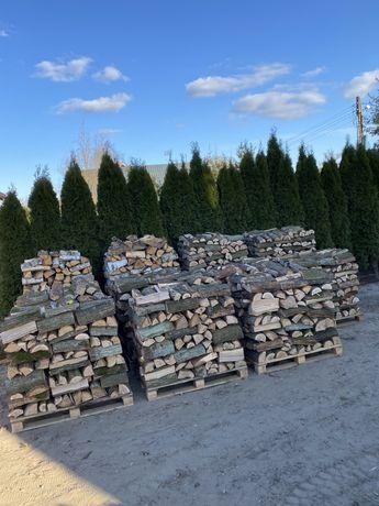 Drewno opałowe kominkowe dębowe łupane
