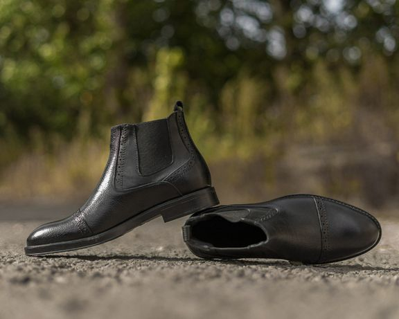 Мужские челси - качество и стиль в одной паре! Ботинки челсі выбирайте