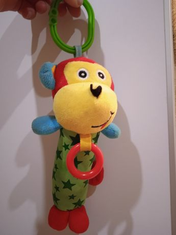 Іграшка,забавка, підвіска на коляску із звуком