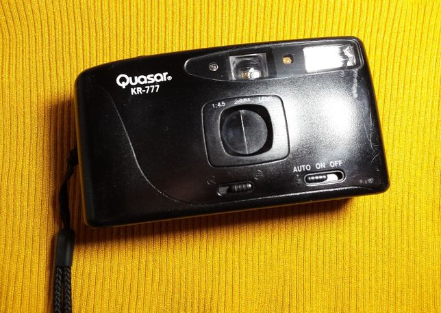 Aparat | Quasar KR-777 | Vintage | fotograficzny analogowy * na kliszę