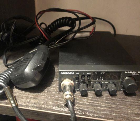 Cb radio president harry II plus antena
