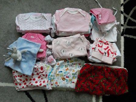 ubranka dla dziewczynki rozmiar 56-62