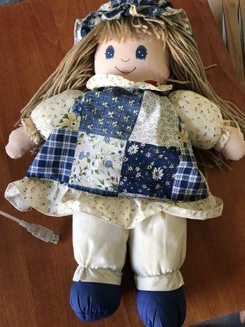 Кукла тряпочная очень легкая