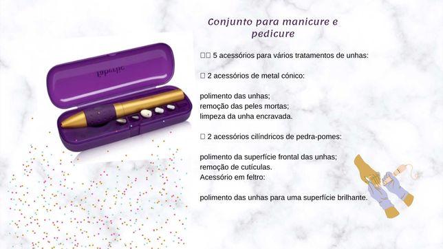 Conjunto para manicure e pedicure