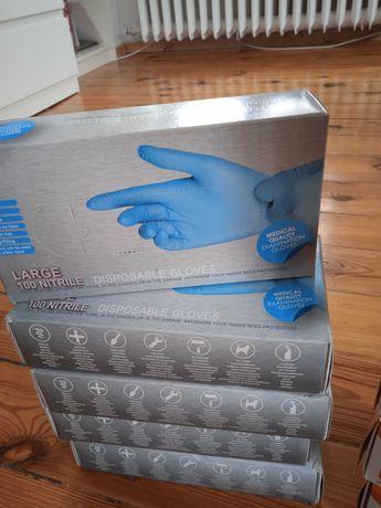 Rękawiczki Nitrylowe.