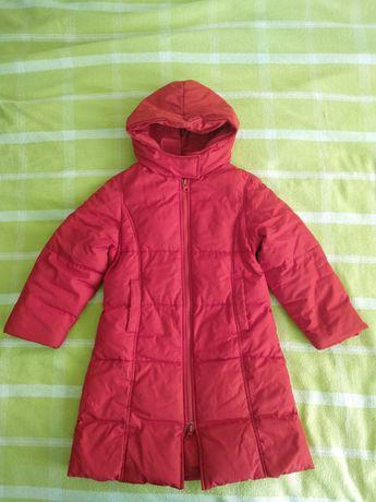 Пуховик пальто 110 см