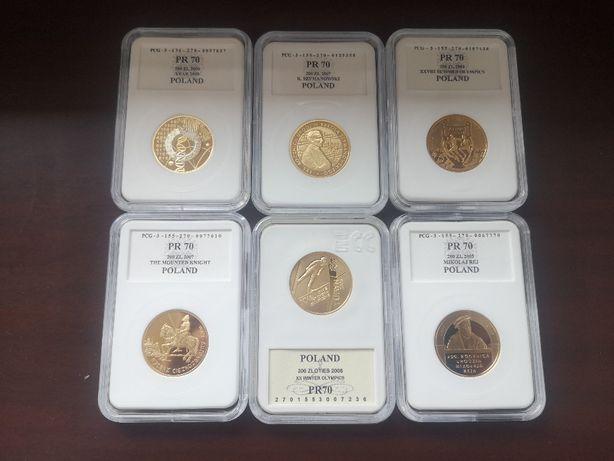 Złota Moneta 200zł