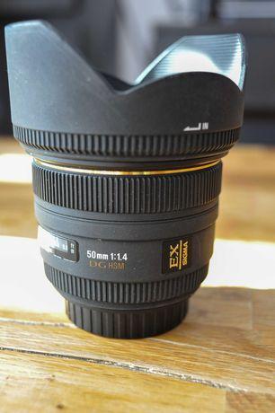 Obiektyw Sigma 50mm f1.4 EX DG HSM Canon EF