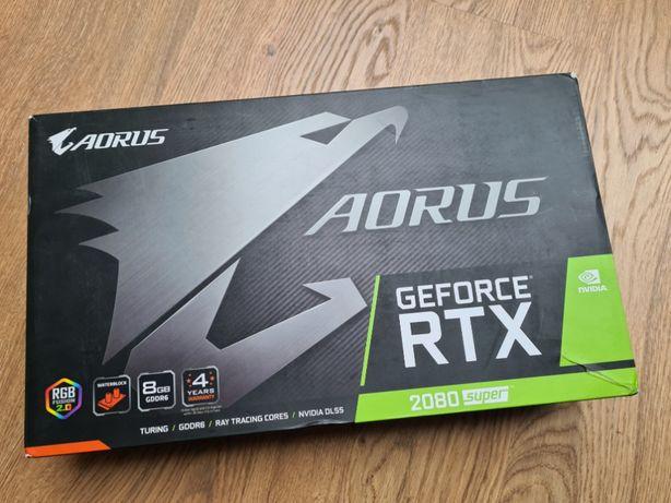 GeForce RTX 2080 super waterforce AORUS 8GB - gwarancja 3 lata