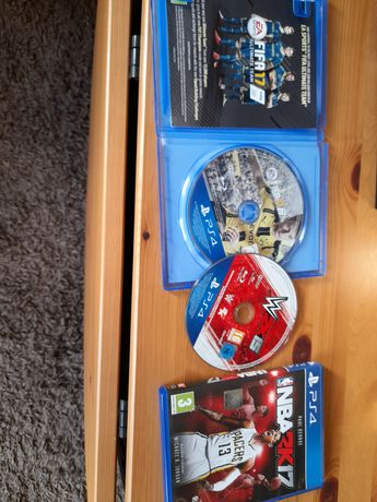 Gry ps4. Nba wwe FIFA