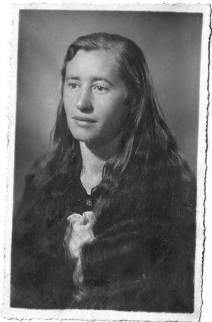 Stare zdjęcia Wrocław portret kobieta