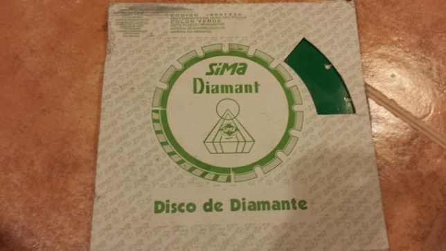 Disco de diamante SIMA - NOVO