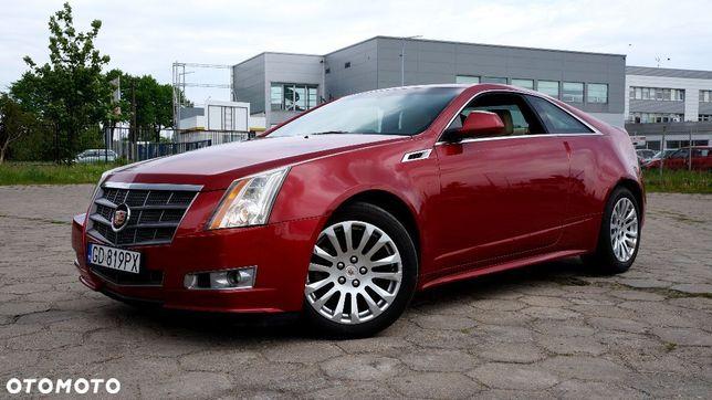 Cadillac Cts 311km, Bezwypadkowy, Awd, Skóra, Szyber, Bose