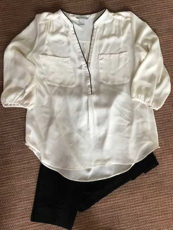 Белая блуза H&M. Размер европейский 46.