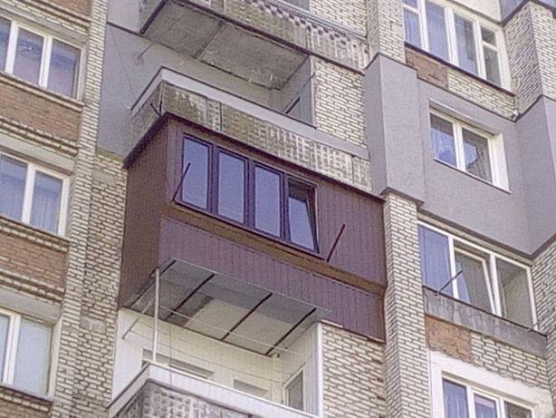 Балкони , лоджія під ключ