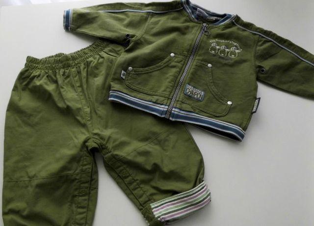 Spodnie, bluza 74 cm komplet.