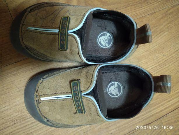 Crocs c6 кроксы слипоны. стелька 13см. Размер 23