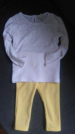 Next bluzeczka legginsy 62 68 74 zarai