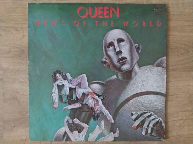 Płyty winylowe Queen News Od The World, gatefold.