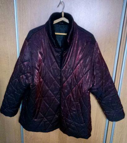 Красивая курточка на пышные формы,ПОГ до 138см.