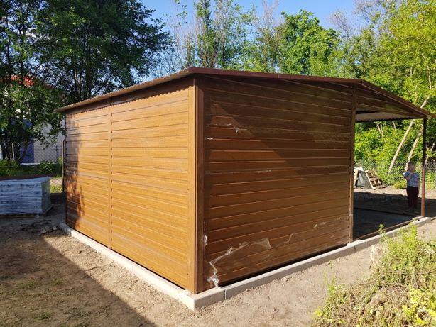 blaszak garaż na budowę schowek garaż blaszany 2x3