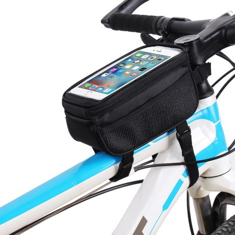 Сумка для телефона на раму велосипеда / велосумка / органайзер